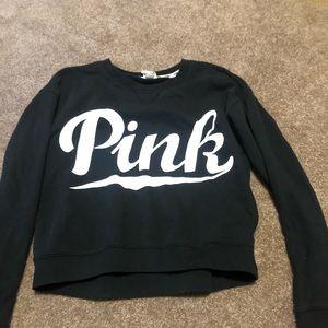 Black PINK crew neck